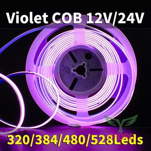 Violeta COB 12V / 24V 320/384/480 / 528leds