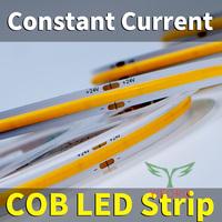 Светодиодная лента постоянного тока 10мм COB 10Вт / м