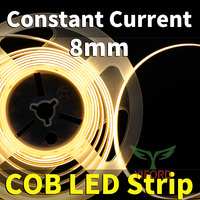 Constant Current 8mm COB LED Strip 10W/M