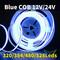 Bleu COB 12V / 24V 320/384/480 / 528leds