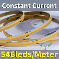 546leds/Meter 10mm PCB 1400lm/W