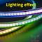 Bande LED numérique RVB COB --- Contrôle des pixels