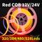 Roter COB 12V / 24V 320/384/480/528leds