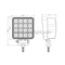48W New Square Off Road LED Work Light For Trucks & Agricultural Machinery IP68 CE