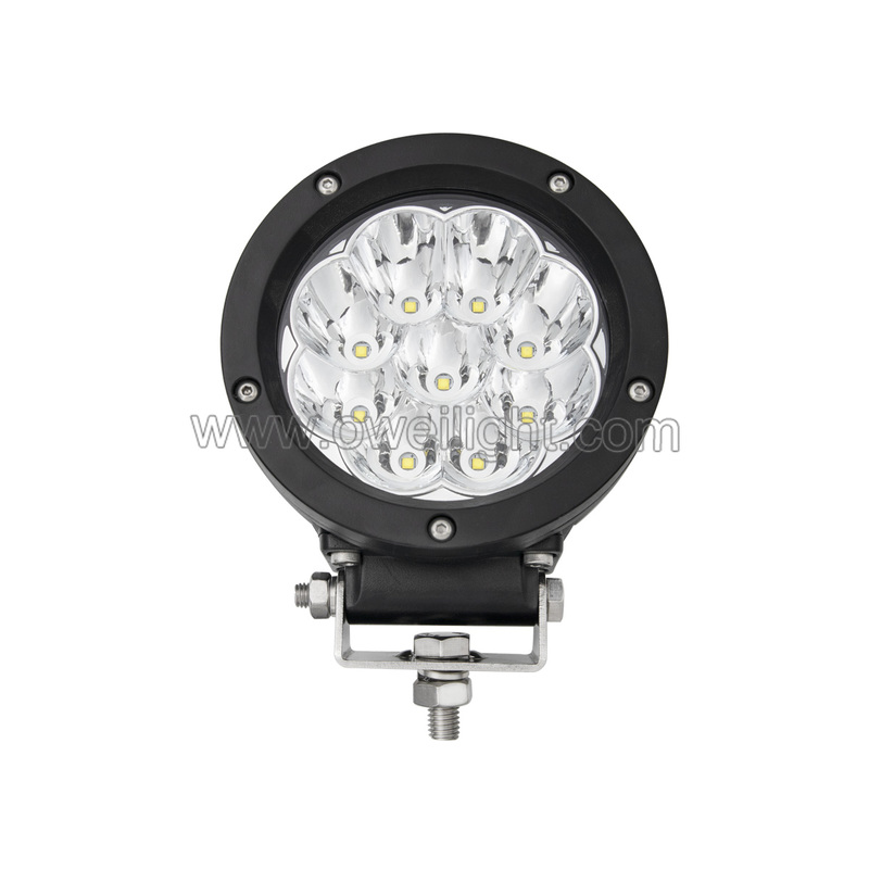 45W Round Motorcycle Round Driving LED Light Led Work Light for Cars