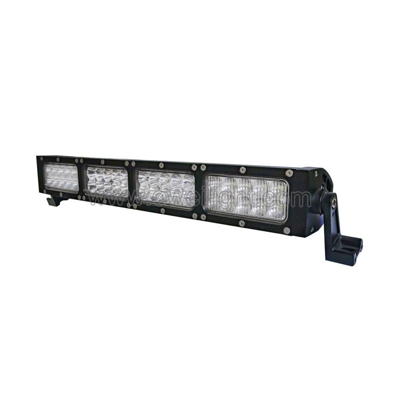 30W-300W Double row Led Light Bar for trucks SUV