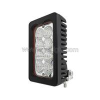 Vertical rectangular 40W Agricultural LED Work Lights