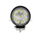 Round 27w Car Outdoor LED Work Lights IP68 Flood and Spot Work Led Light
