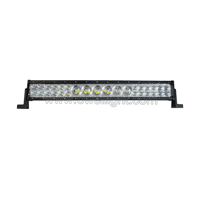 56W-304W Single and Double Row LED Light Bar For Cars Trucks