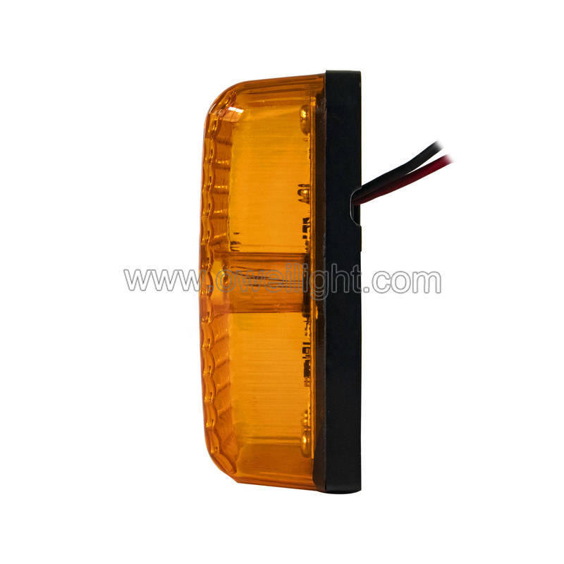 12w Combination LED Work Lamp with Multi function - Flood Spot Turn Signal Sider Maker - For Tractors Trucks Agriculture Machines