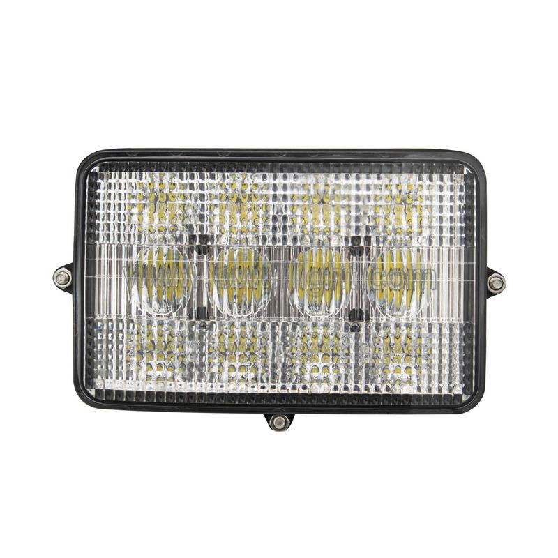 60W Rectangular LED Lights For Agricultural Equipment
