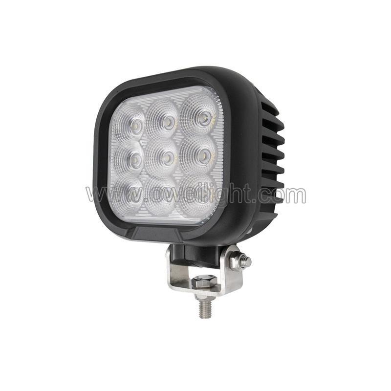 high power 90w super bright led work light for Heavy Duty Industrial Trucks excavator etc