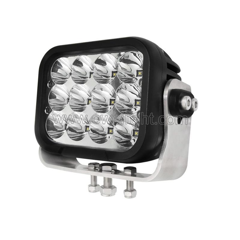 Super high power 120w super bright led work light for Heavy Duty Industrial Trucks excavator etc
