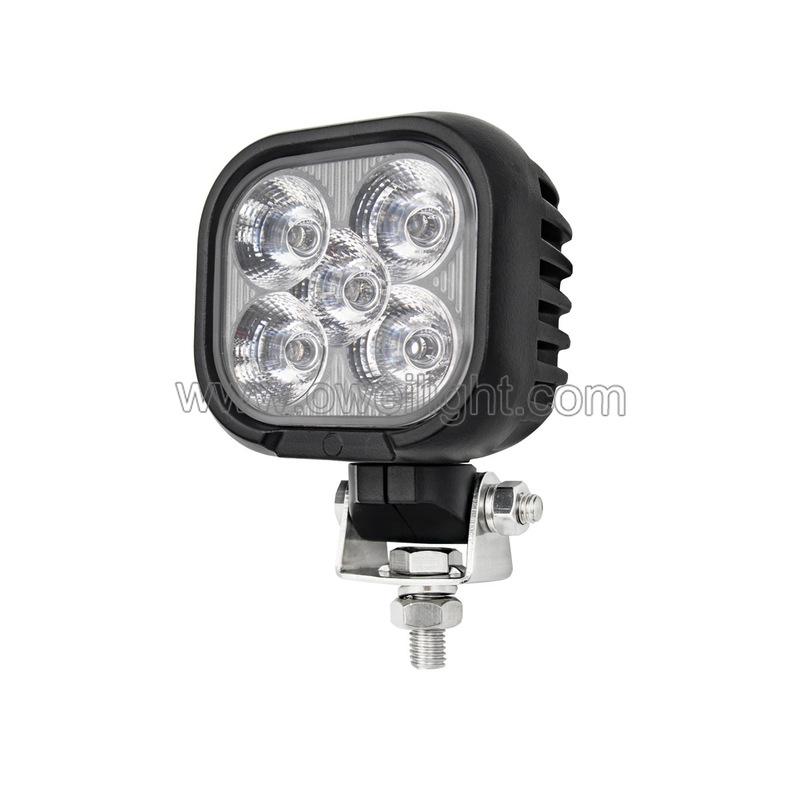 4500LM 50w Mini Size 24V LED Work Lights for Heavy Duty Industrial Trucks Car
