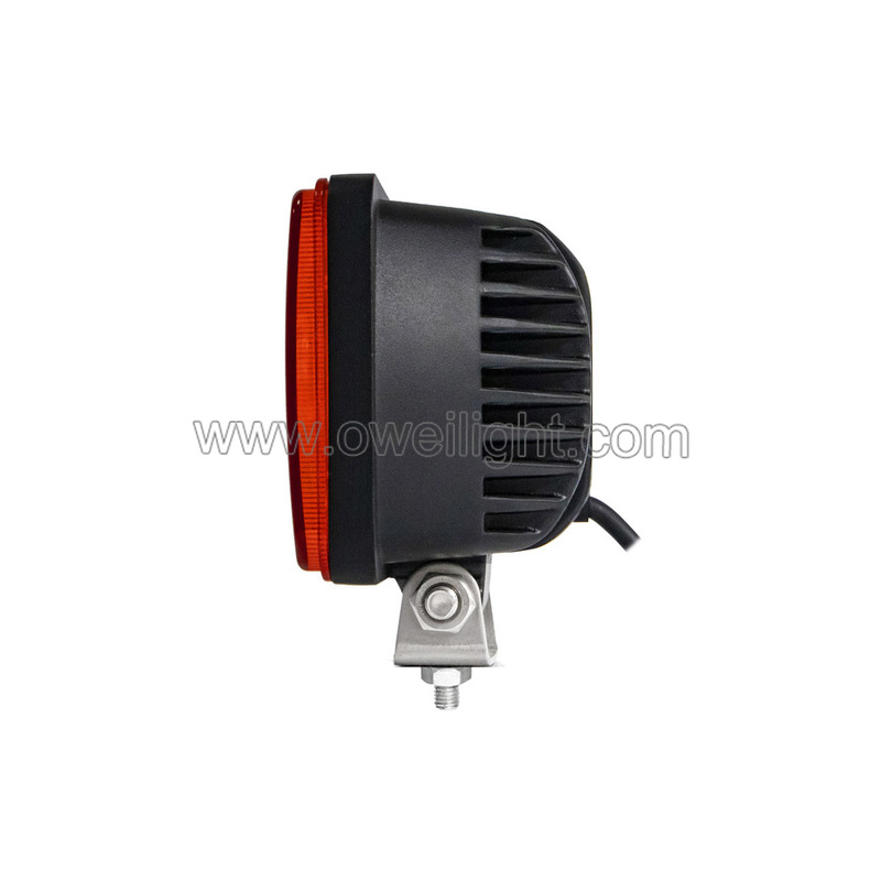 Amber LED Headlights OEM 24W  Headlamp Car Accessories Led Headlights