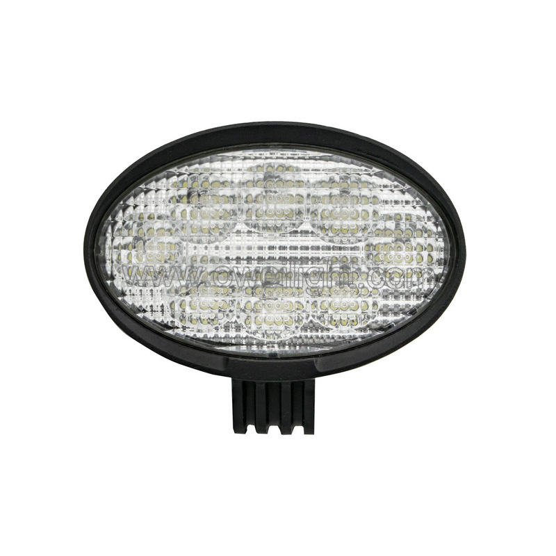 24W EMC Approved Oval LED Tractor Lights SUV ATV