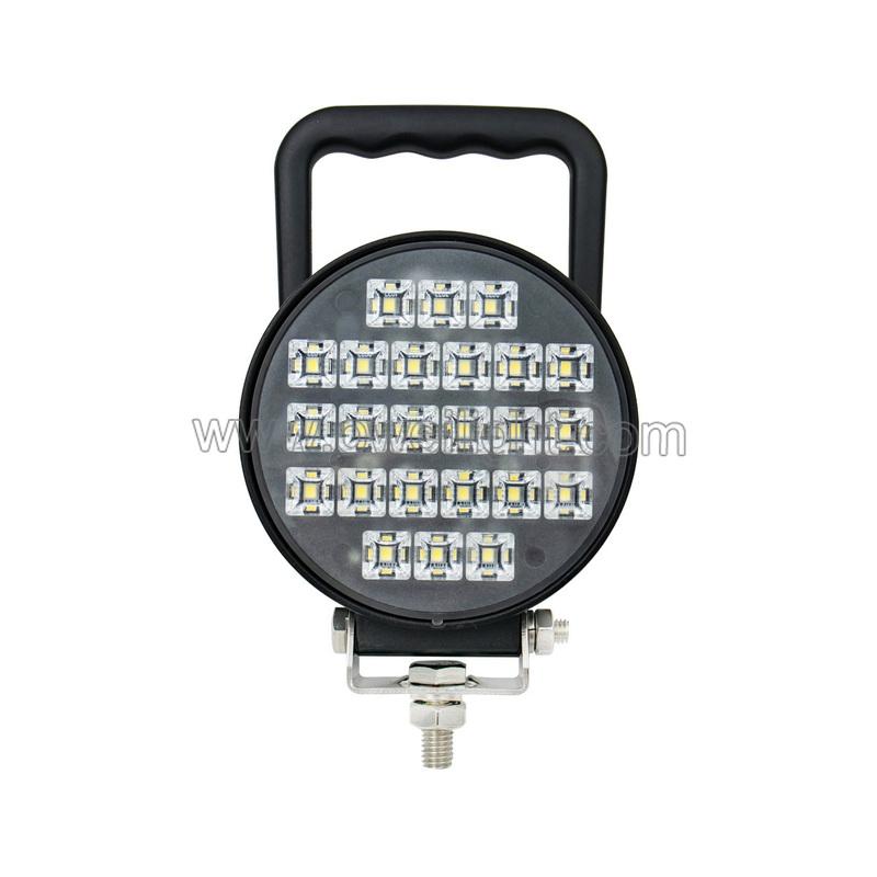 12V Round LED Work Flood Lights