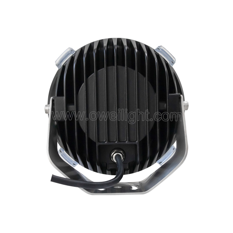 135W Round Driving Lights Jeep LED Driving Lights for Cars truck light