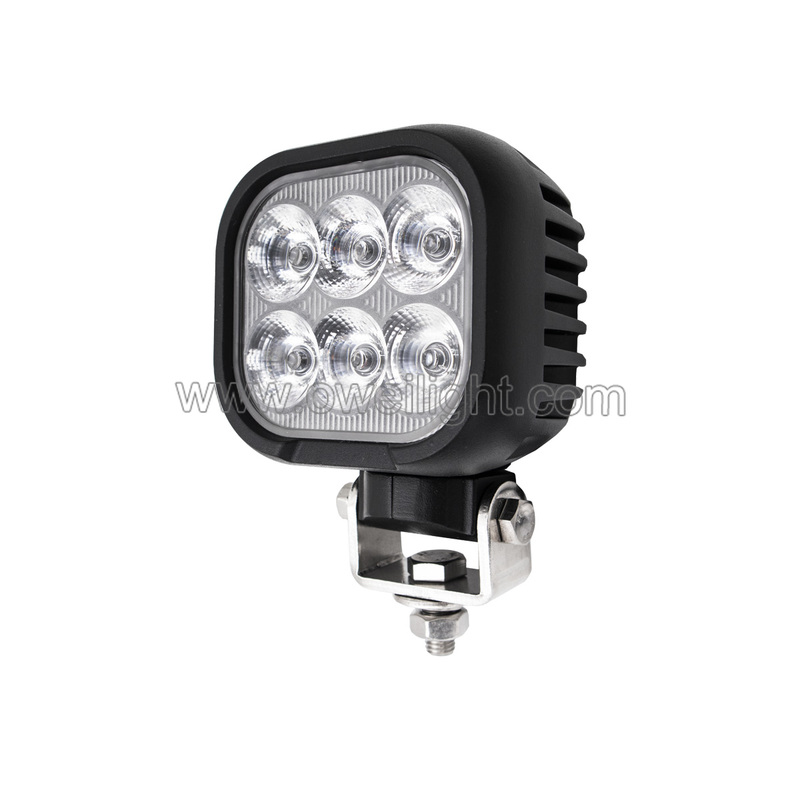 High Power 60w 5400LM Led Work Light General Working Lamp Grade Approved