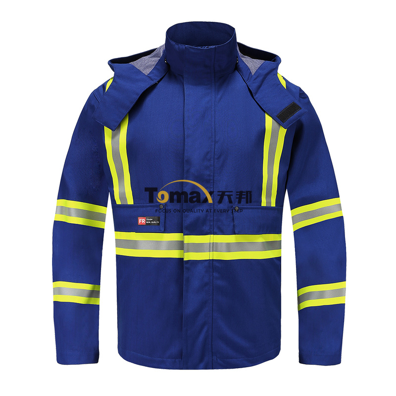 FR Rain006J 阻燃雨衣夹克