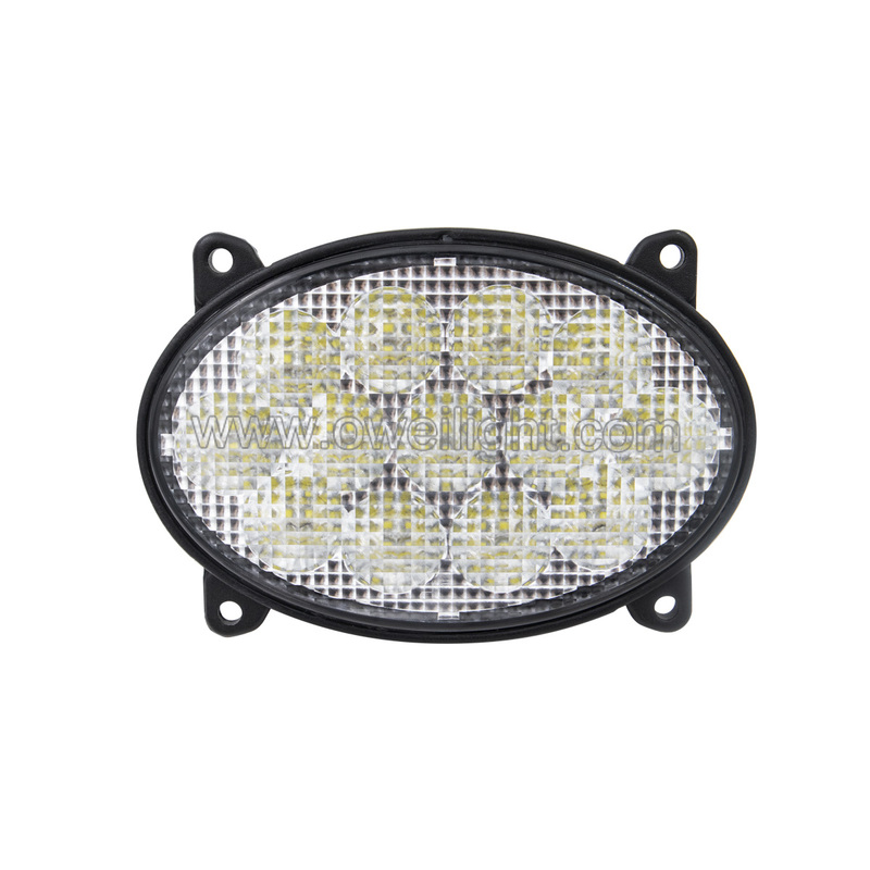 39w Oval Agricultural Light  Embedded lamp