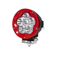 60W Round Projector LED High Intensity LED Driving Lights ATV SUV Car Truck