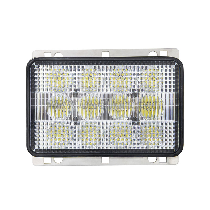 Best High Power 60w Square Tractor LED Work Lamplight Led Light for Agriculture Vehicles and Class Tractors