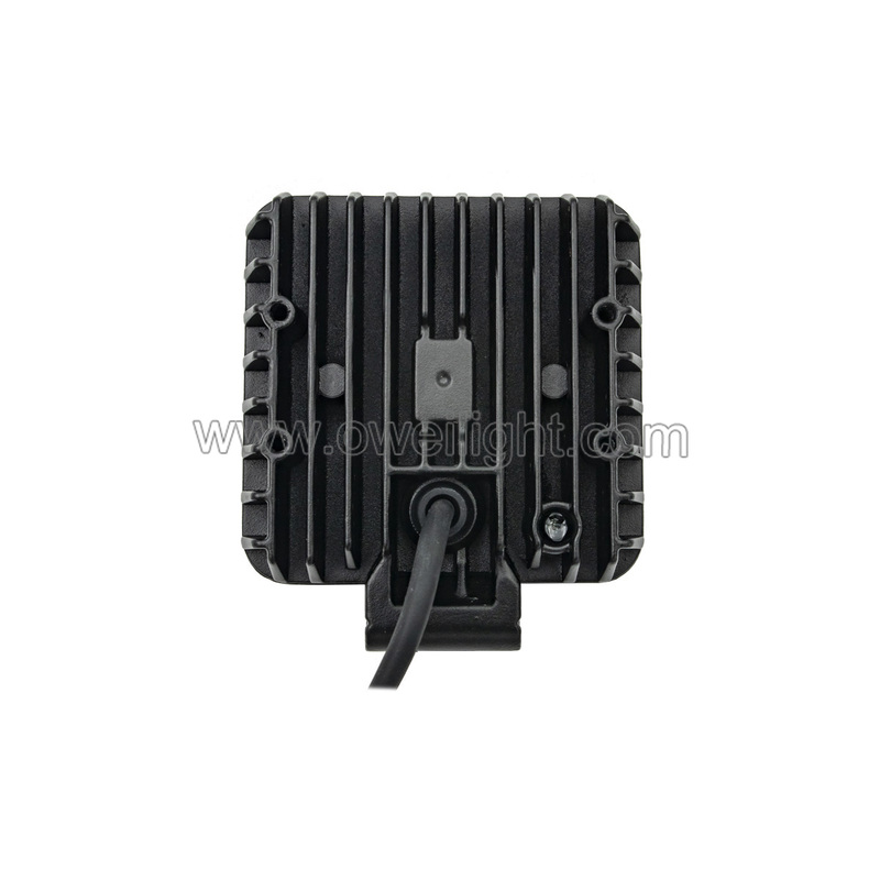 16W LED Work Light For Trucks JP Agricultural Machinery Handle, Switch Optional