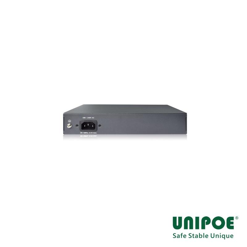 6-Port Gigabit+2GE+2G SFP High PoE Switch(Support 802.3 af/at/bt Standard)