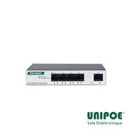 4-Port Gigabit+1GE PoE Switch(1-4 Support IEEE802.3af/at Standard)