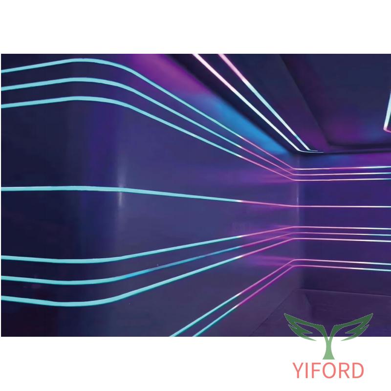 Vista superior Neon Flex 16*16mm