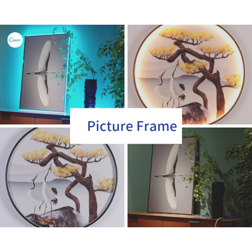 Рама для картины / зеркало / панно / украшение
