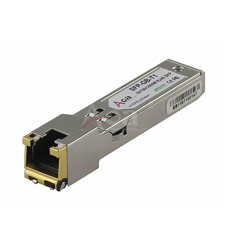 10/100/1000Mbps Copper SFP Transceiver