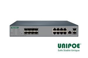 8G SFP + 8GE + 2G SFP Fiber Managed Switch