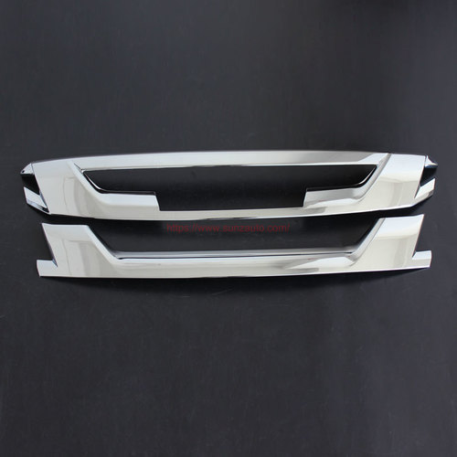 ISUZU D-MAX 2016 FRONT GRILL COVER (CHROME)