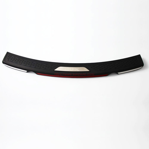 ISUZU MAX 2017 REAR STEP COVER without light BLACK