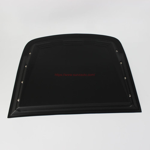 CHEVROLET COLORADO 2017 BONNET SCOOPS COVER with NUTS BLACK