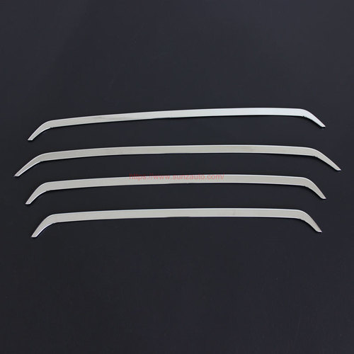 TOYOTA FORTUNER 2015 FRONT DOWN GRILL COVER (CHROME)
