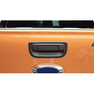 FORD RANGER T8 2018 REAR HANDLE COVER BLACK