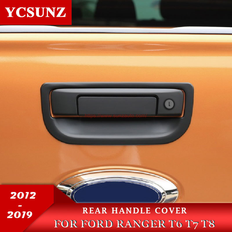 RANGER 18 REAR HANDLE COVER with key hole