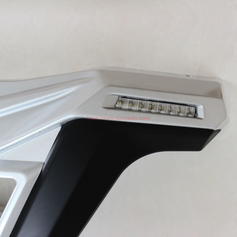 NP300 14 FRONT BUMPERT with led