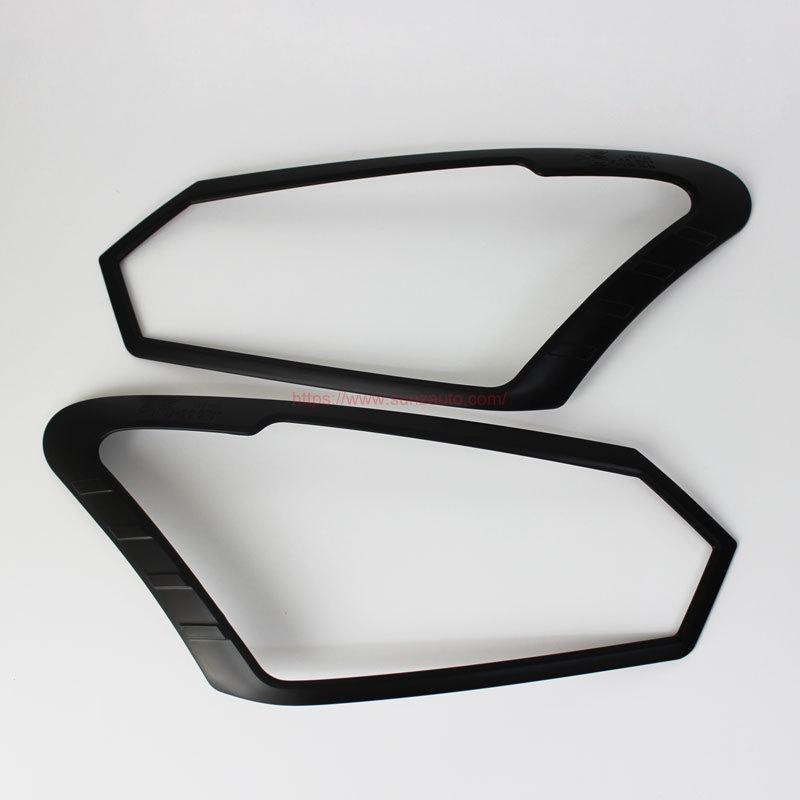 2016 ISUZU D-MAX Matte Black Head Light Cover