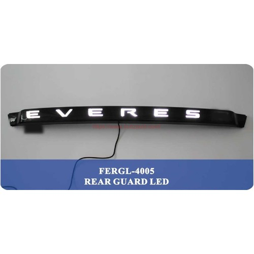 EVEREST 15 REAR GUARD WITH WHITE LED