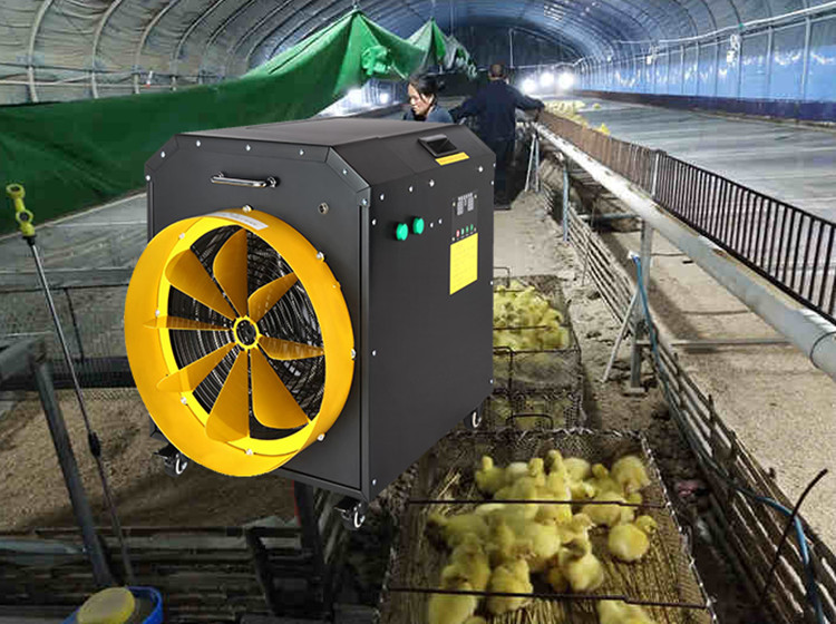 Electric heating fan brooding constant temperature hot fan breeding greenhouse heating heater industrial dryer