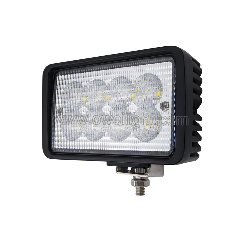 40w Square Tractor LED Work Lamplight  for Class Tractors Agriculture Vehicles