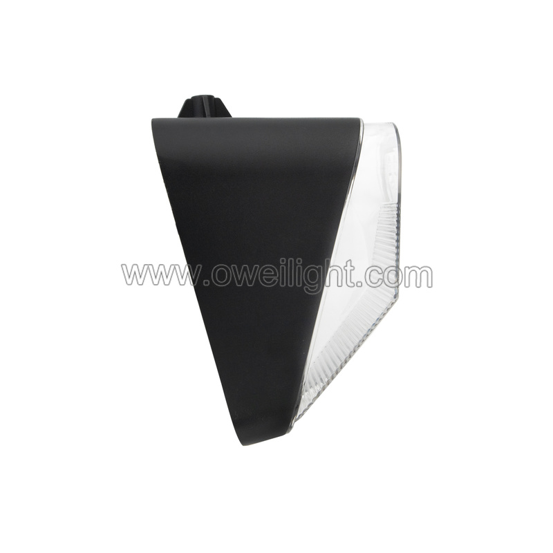 Super Bright  90W Triangle Led Work Lamp for Agricultural Vehicles Snowplow Skid Steer Loader