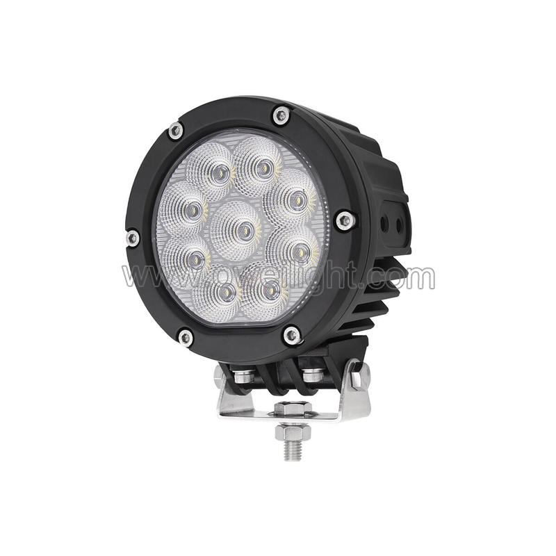 Emark Factory High Power 60W P68 Offroad Truck Round LED Driving Lights