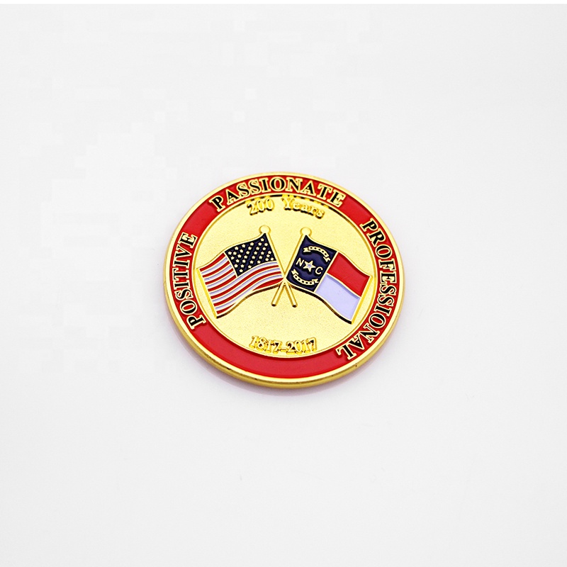 High quality pope challenge coin