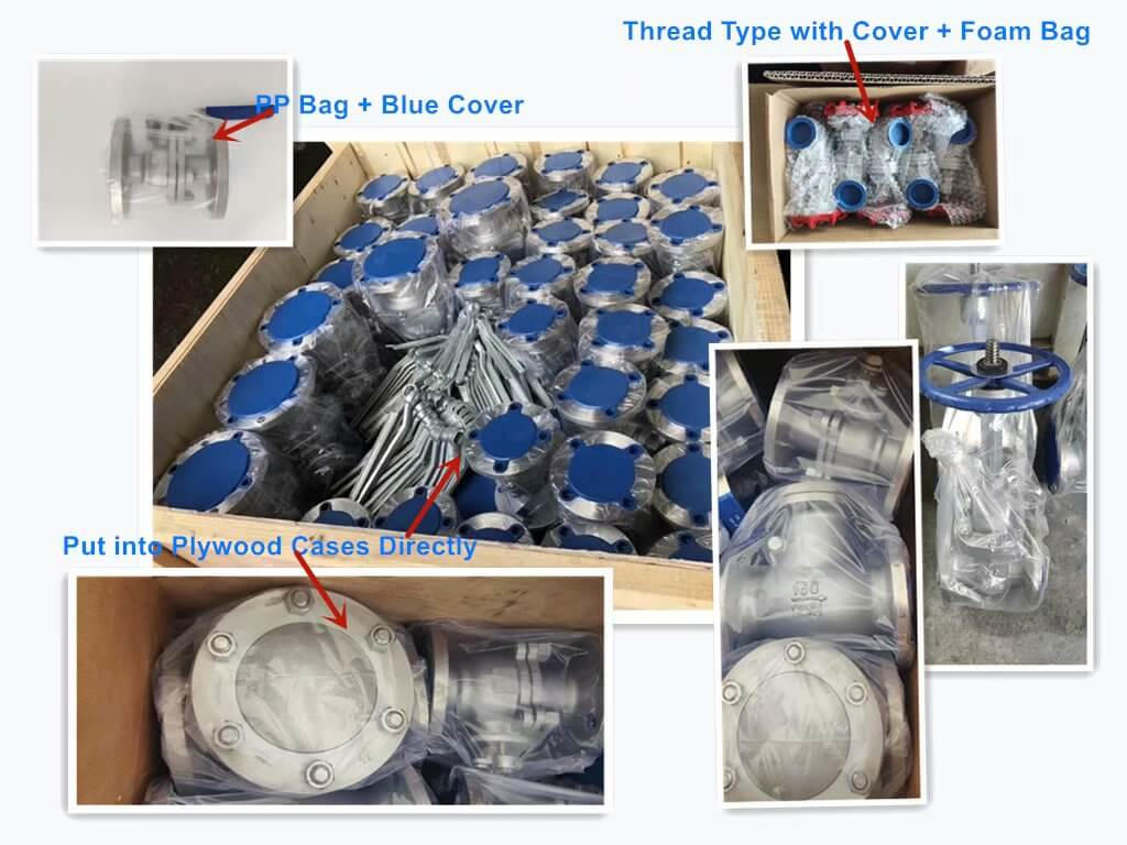 Packing of Flanged Valves