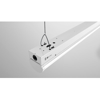 LED Linear Ambient Low Bay Light 8ft 40W